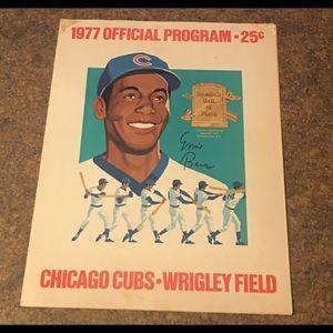 Other - Vintage ERNIE BANKS Chicago Cubs Game Program